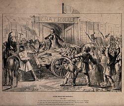 Революция года во Франции Википедия Марраст произносит речь над убитыми