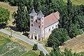 A felújított Szent Jakab templom légi fotón.jpg