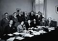 A meeting of twelve scientists on tropical medicine. Photogr Wellcome V0028060.jpg