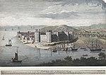 A north-west view of Caernarvon Castle.jpeg