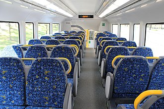 Sydney Trains A & B sets - Image: A set upper deck 1 cityrail 2