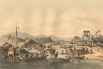 Hội An - Hội An port in 18th century