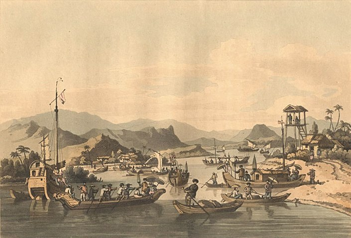A voyage to Cochinchina in the years 1792 and 1793 - Faifo
