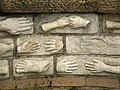 A wall of hands - geograph.org.uk - 947293.jpg