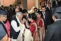 A welcome for the Prime Minister, Shri Narendra Modi, at Kathmandu, in Nepal on November 25, 2014.jpg
