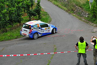 Aaron Burkart German rally driver