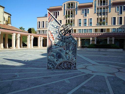 Abano Terme - Piazza del Sole e della Pace