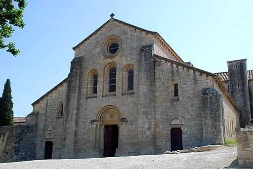 Abbaye de Silvacane - 01 - façade
