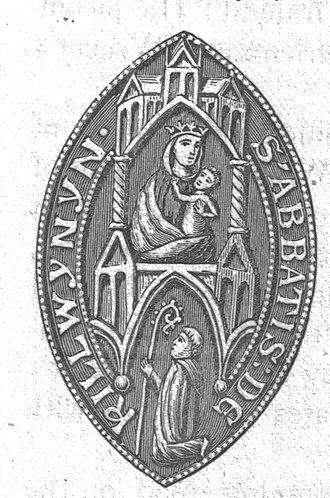 Kilwinning Abbey - The Abbot's seal