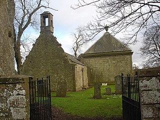 Aberuthven village in United Kingdom