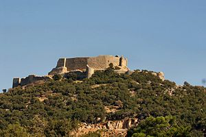 Abu Qubays - Skyline of Abu Qubays fortress, 2004