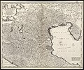 Accuratissima Dominii Veneti in Italia, Ducatus Parmae, Placentiae, Modenae Regii Et Mantuae, Episcopatus Tridentini Tabula quae est Lombardia Inferior (8346435582).jpg