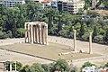 Acropolis View of Temple of Olympian Zeus (28365187521).jpg