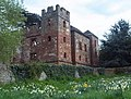 Acton Burnell Castle from churchyard - geograph.org.uk - 789847.jpg