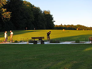 Dolder driving range on Adlisberg in Zürich (S...