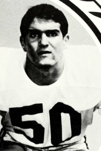 Adrian Young (American football) - Young from 1968 USC yearbook