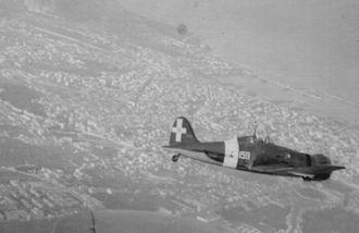 Macchi C.200 - A WWII Italian fighter Macchi MC.200 Saetta. From the private archive of Riggio family