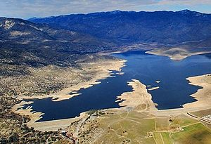 Lake Isabella, California - Aerial: Lake Isabella