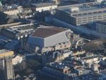 Aerial view of St David's Hall, Cardiff.jpg