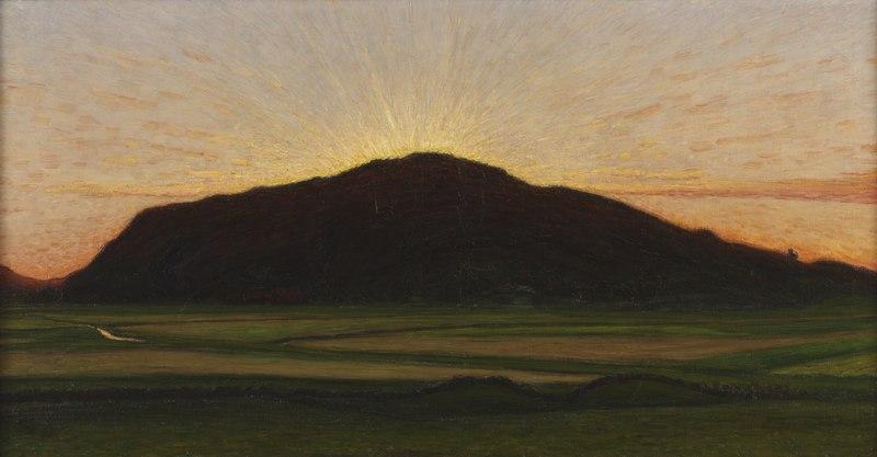 Afterglow (Karl Nordström) - Nationalmuseum - 21201