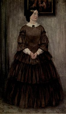 david copperfield  illustration of agnes wickfield david s second wife by frank reynolds