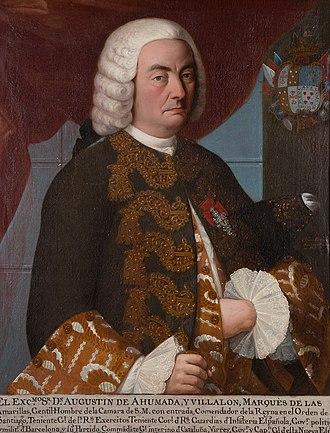Agustín de Ahumada - Image: Agustinde Ahumaday Villalon