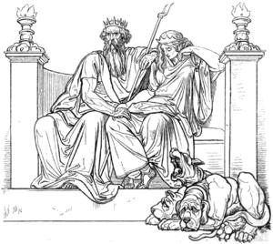 Aidoneus - Hades (Pluton) & Persephone (Proser...