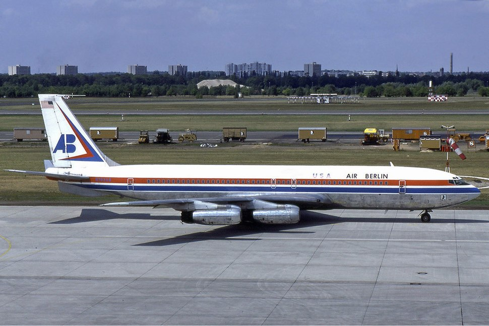 Air Berlin USA Boeing 707-300 Manteufel