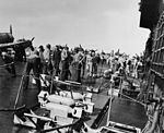 Aircraft are armed on USS Enterprise (CV-6) in early 1942.jpg