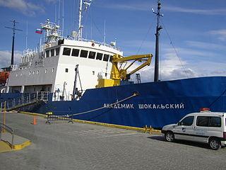 <i>Akademik Shokalskiy</i> Akademik Shuleykin-class oceanographic research vessel