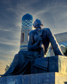 Al Khwarizmi's Monument in Khiva.png