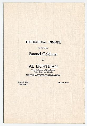 Al Lichtman - Al Lichtman Tribute menu cover