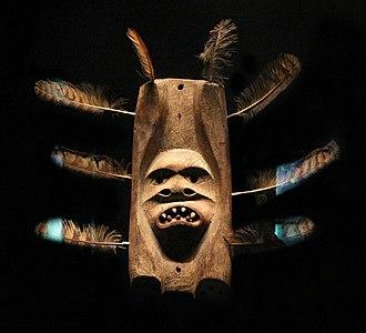 Siberian Yupik - Image: Alaska, yup'ik, maschera cerimoniale aeggimaquq, 1900 20 ca