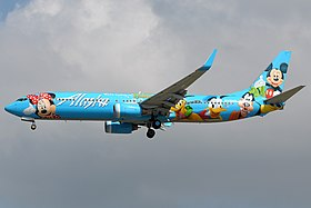 Alaska Airlines 737-900 with Disneyworld livery.jpg