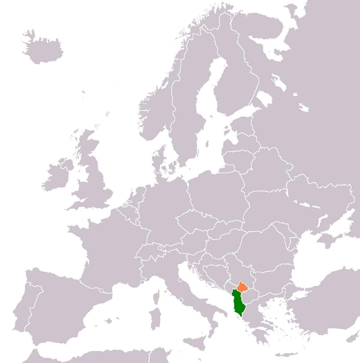 Albaniakosovo relations wikipedia gumiabroncs Gallery