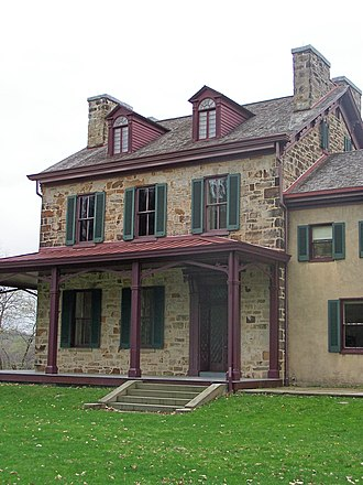 Friendship Hill - The house of Albert Gallatin at Friendship Hill National Historic Site