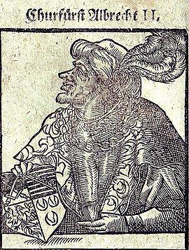 Albrecht II., Sachsen, Herzog