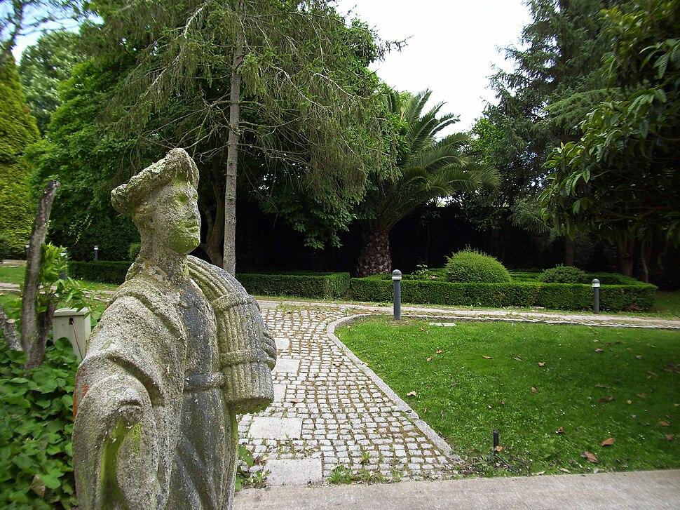 Alegoría do verán no pazo de Lóngora