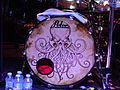 Alestorm, Ex Deo and Lagerstein at St des Seins, Toulouse, 2013-03-20 - drums.JPG