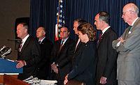 Alexander introduces legislation that would make the Baker-Hamilton Iraq Study Group.jpg