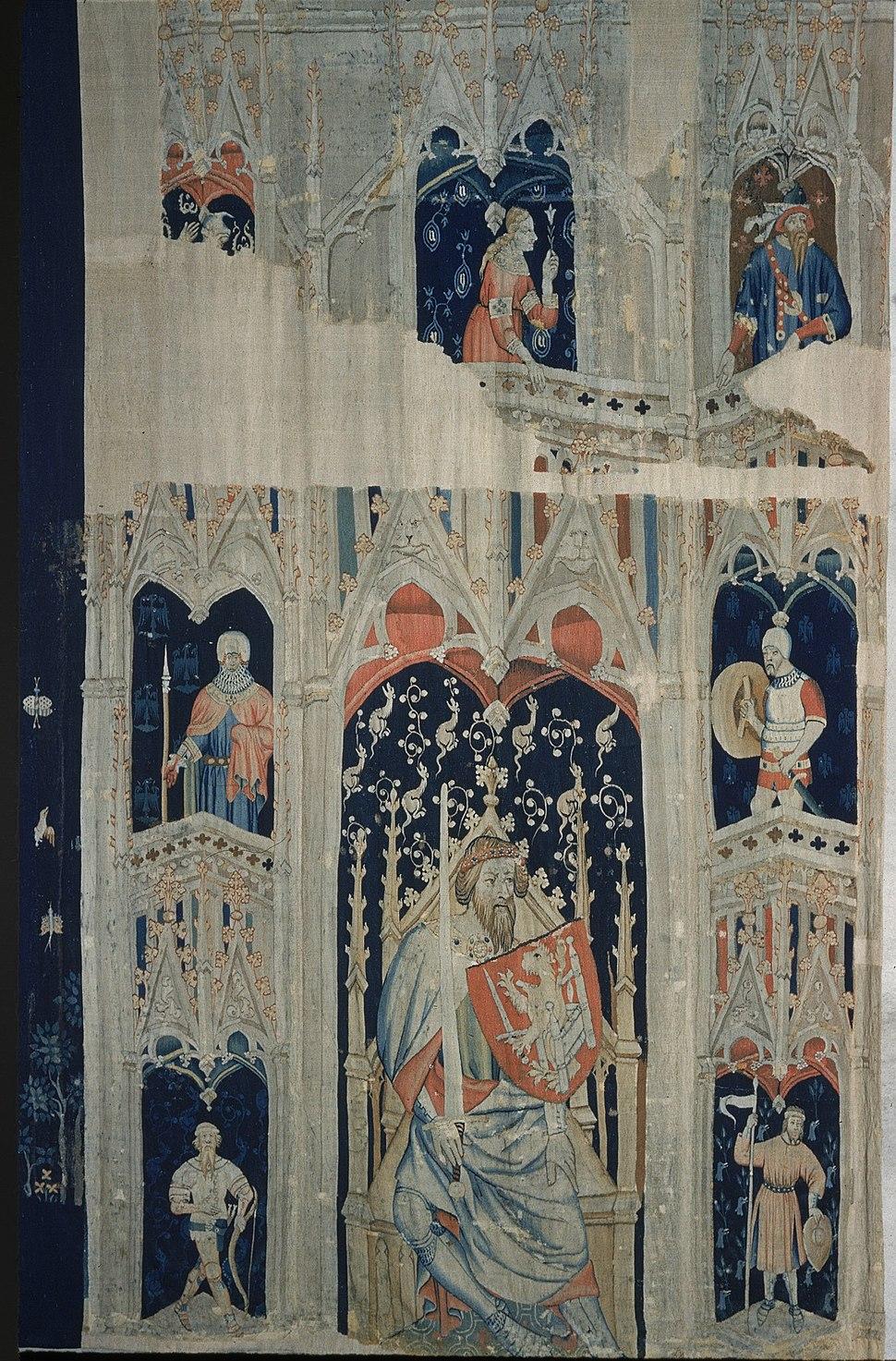Alexander the Great or Hector of Troy (from the Nine Heroes Tapestries) MET ra47.101.2d.R