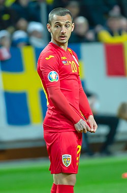 Alexandru Mitrita (cropped) - Sweden vs Romania 23 March 2019.jpg