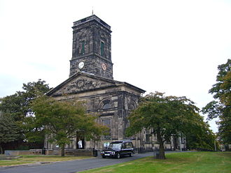 Wellington, Shropshire - All Saints' Church in the centre of Wellington. Built in 1790.