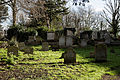All Hallows Church Tottenham Haringey England - churchyard at north.jpg