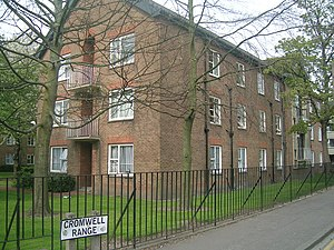 Fallowfield - The More building of the Allen Hall Complex (a Roman Catholic hall of residence): see below, Education
