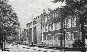 Allied Kommandatura - Kommandatura building in Berlin-Dahlem, ca. 1950.