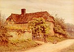 Allingham Helen A Berkshire Cottage.jpg