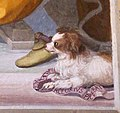 Allori, Il console Flaminio parla al consiglio degli Achei, 1578-82 ca., 09.jpg