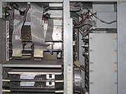 Inside view of AlphaServer 2100.
