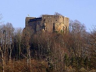 County of Eberstein - Image: Alt Ebersteinburg